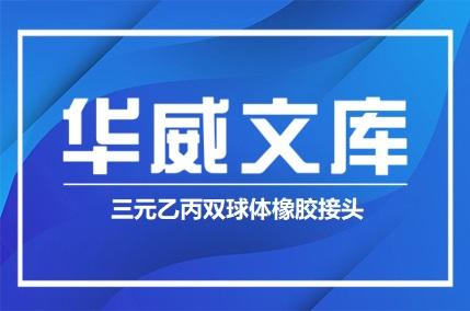 三元乙丙双球体橡胶接头(图文)——华威文库
