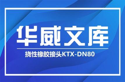 挠性橡胶接头KTX-DN80(图文)——华威文库