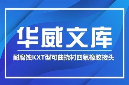 耐腐蚀KXT型可曲挠衬四氟橡胶接头——华威文库