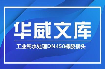 工业纯水处理DN450橡胶接头——华威文库