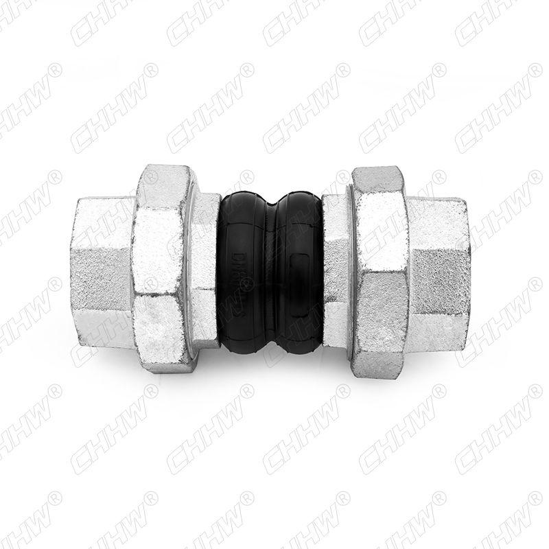 JGD-B-PN16-DN80丝扣连接橡胶接头