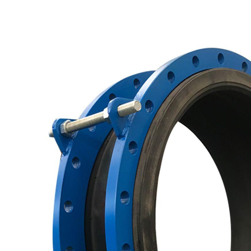 可曲挠防拉脱限位装置橡胶软接头